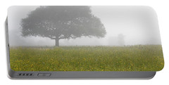 Portable Battery Charger featuring the photograph Skc 0056 Tree In Fog by Sunil Kapadia