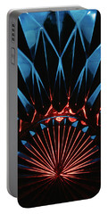 Portable Battery Charger featuring the photograph Skc 0269 Cut Glass by Sunil Kapadia