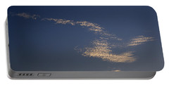 Skc 0353 Cloud In Flight Portable Battery Charger by Sunil Kapadia