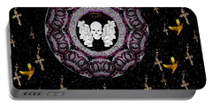 Skull Night In Peace Portable Battery Charger