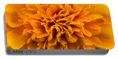Skunk Flower Orange Portable Battery Charger