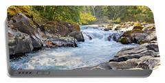 Skutz Falls At Cowichan River Provincial Park Portable Battery Charger