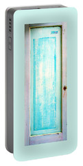 Sky Blue Entrance Entre Vous Portable Battery Charger by Asha Carolyn Young