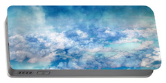 Sky Moods - A View From Above Portable Battery Charger by Glenn McCarthy