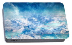 Portable Battery Charger featuring the photograph Sky Moods - A View From Above by Glenn McCarthy
