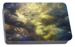 Portable Battery Charger featuring the photograph Sky Moods - Abstract by Glenn McCarthy Art and Photography