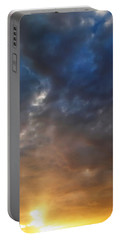 Sky Moods - Contemplation Portable Battery Charger by Glenn McCarthy