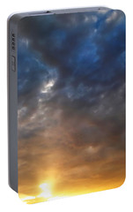 Portable Battery Charger featuring the photograph Sky Moods - Contemplation by Glenn McCarthy