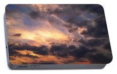 Portable Battery Charger featuring the photograph Sky Moods - Depth by Glenn McCarthy