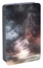 Portable Battery Charger featuring the photograph Sky Moods by Glenn McCarthy