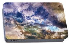 Portable Battery Charger featuring the photograph Sky Moods - Sea Of Dreams by Glenn McCarthy