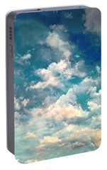 Portable Battery Charger featuring the photograph Sky Moods - Refreshing by Glenn McCarthy