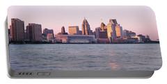 Skyline Detroit Mi Usa Portable Battery Charger