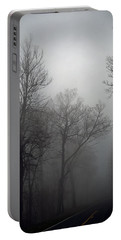 Skyline Drive In Fog Portable Battery Charger