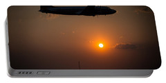 Portable Battery Charger featuring the photograph Skymaster Sunset by Paul Job