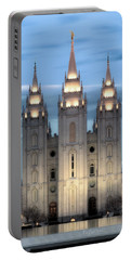Slc Temple Blue Portable Battery Charger