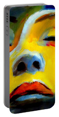 Portable Battery Charger featuring the painting Sleeping Beauty by Helena Wierzbicki