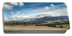 Portable Battery Charger featuring the photograph Sleeping Giants In Cades Cove by Debbie Green