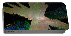 Sleeping Under The  Milky Way Stars Portable Battery Charger