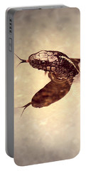Portable Battery Charger featuring the photograph Slithering Reflections by Melanie Lankford Photography