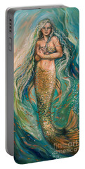 Slumbering Mermaid Portable Battery Charger