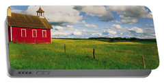 Small Red Schoolhouse, Battle Lake Portable Battery Charger