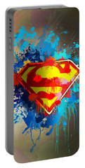 Smallville Portable Battery Charger by Anthony Mwangi