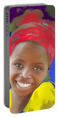 Smile Portable Battery Charger by Kume Bryant
