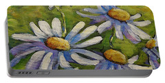 Smiling Daisies By Prankearts Portable Battery Charger