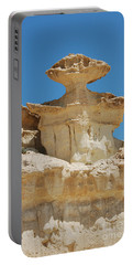 Portable Battery Charger featuring the photograph Smiling Stone Man by Linda Prewer