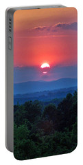 Smokey Mtn Sunset Portable Battery Charger