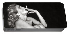 Smoking Nude  Portable Battery Charger