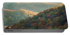 Portable Battery Charger featuring the photograph Smoky Mountain View by Patrick Shupert