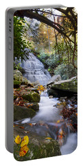 Smoky Mountain Waterfall Portable Battery Charger