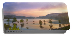 Smoky Sunset Portable Battery Charger