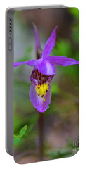 Portable Battery Charger featuring the digital art Snapdragon by Mae Wertz