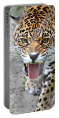 Snarling Jaguar  Portable Battery Charger