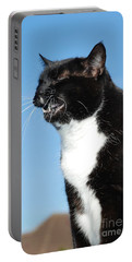 Sneezing Cat Portable Battery Charger