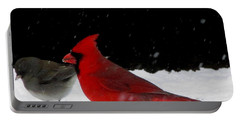 Snow Birds Portable Battery Charger