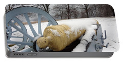 Snow Cannon Portable Battery Charger by Michael Porchik