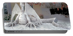 Snow Dragon 3 Portable Battery Charger by Terry Reynoldson