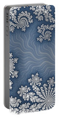 Snow Flurries  Portable Battery Charger