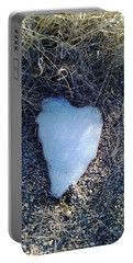 Snow Heart Portable Battery Charger