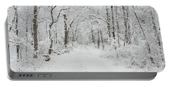 Snow In The Park Portable Battery Charger