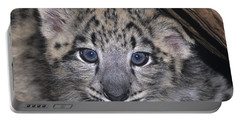 Snow Leopard Cub Endangered Portable Battery Charger