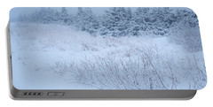 Snow On New Years Eve Portable Battery Charger