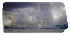 Snow On The Rockies Portable Battery Charger by Greg Reed
