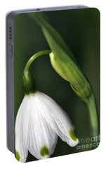 Portable Battery Charger featuring the photograph Snowdrop by Joy Watson