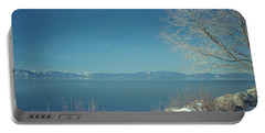 Snowing In Tahoe Portable Battery Charger
