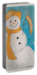 Snowman University Of Tennessee Portable Battery Charger